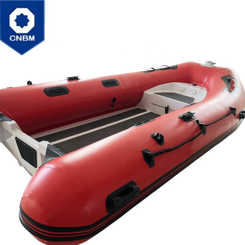 CE Certificate PVC or Hypalon Material China Rigid Yacht Tender Aluminum Hull RIB Inflatable Boat for Sale with Outboard Engine