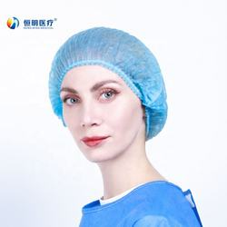 High quality Disposable Nonwoven Surgical Bouffant Mob Clip Cap