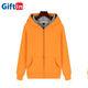 Men wholesale clothes casual zipper men's oversized hoodies drop shoulder hip hop apparel