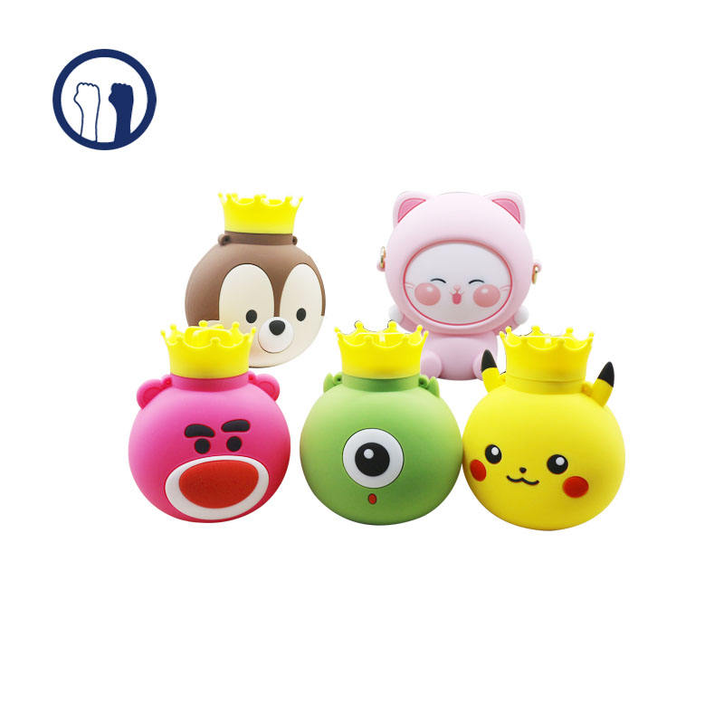 2020 new Cartoon characters Wholesale Popular Winter heating products Hot Water bottle Silicone Hot Water Bag