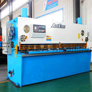 Sheet Metal Guillotine Cutting Mesin Geser