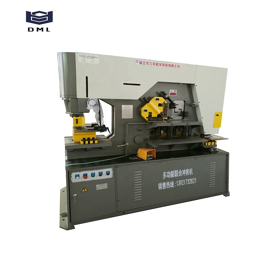 Sheet Iron Worker Machine Taiwan Sunrise Combined Punch And Shear Machine