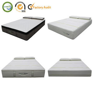 LIN-363 xxxn waterproof memory foam protector topper cover inflatable spring natural latex in a box king bed hotel mattress