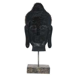 Custom design wholesale buddha heads  home decor resin buddha statue head/