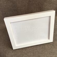 Wholesale solid wooden picture frame hanging table white picture frame