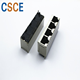 T Rj45 Female Connector Shielded RJ45 Connector Female Jack/ Magnetic RJ45 Connector Tab Up Latch 100 Base - T