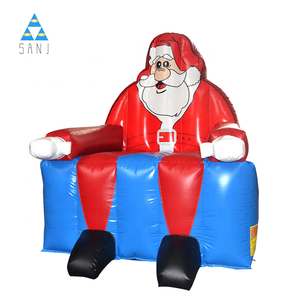Christmas Inflatable Santa Claus Jumper Bounce House