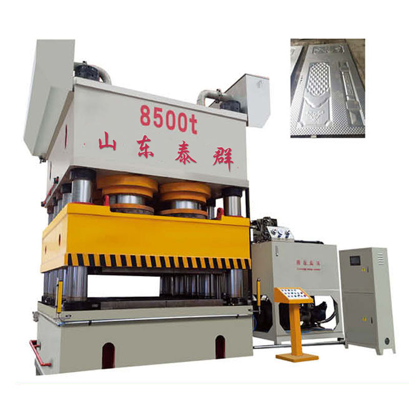 4000t Iron steel door skin pressing machine sheet metal embossing machine