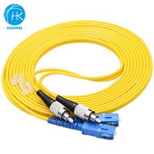 3m Price Duplex Fc Sc Fiber Optic Cable Network Optical 1 Meter Patch Cord