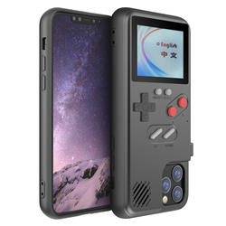 Color screen Display 36 Classic game chargeable smart phone case For game boy case for iphone