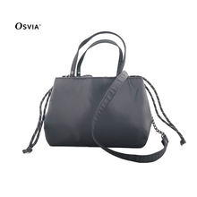 Fashion good quality draw string bag womens bag  hand bag with shoulders strap