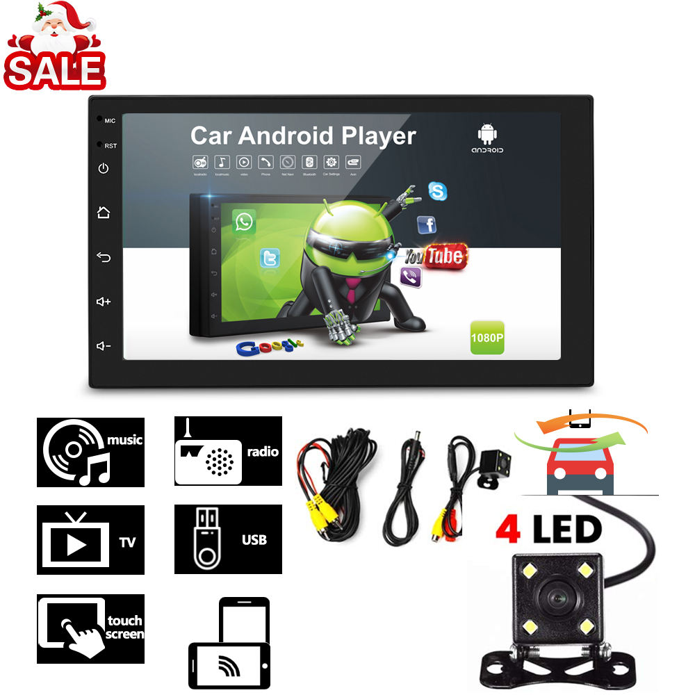 High Quality 2 Din Universal Auto Video Radio Carro Android Car Media MP5 Player