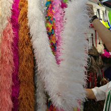 ostrich feather boa 20 ply