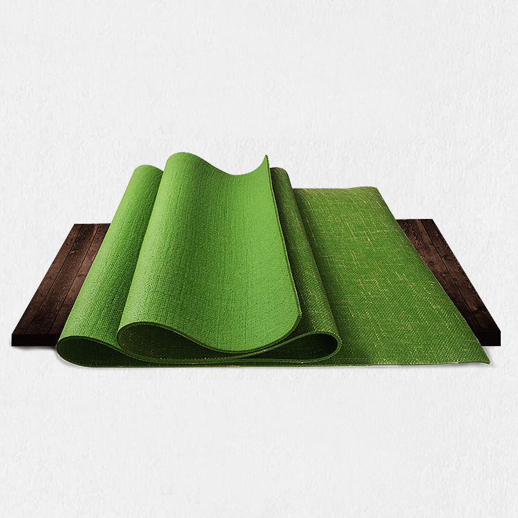 Top 10 Selling Products Environmentally Yoga Mat Jute, Top 10 Selling Products Reversible Organic Natural Jute Carpet Gym Yoga M