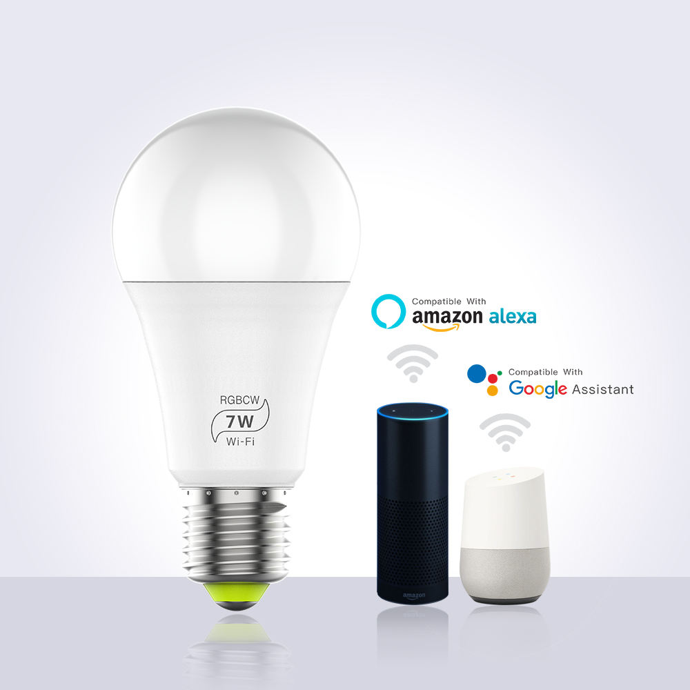 EU Style E27/B22 Music Function Smart Led Bulb Light RGBW Wireless e27 Led Bulb Light