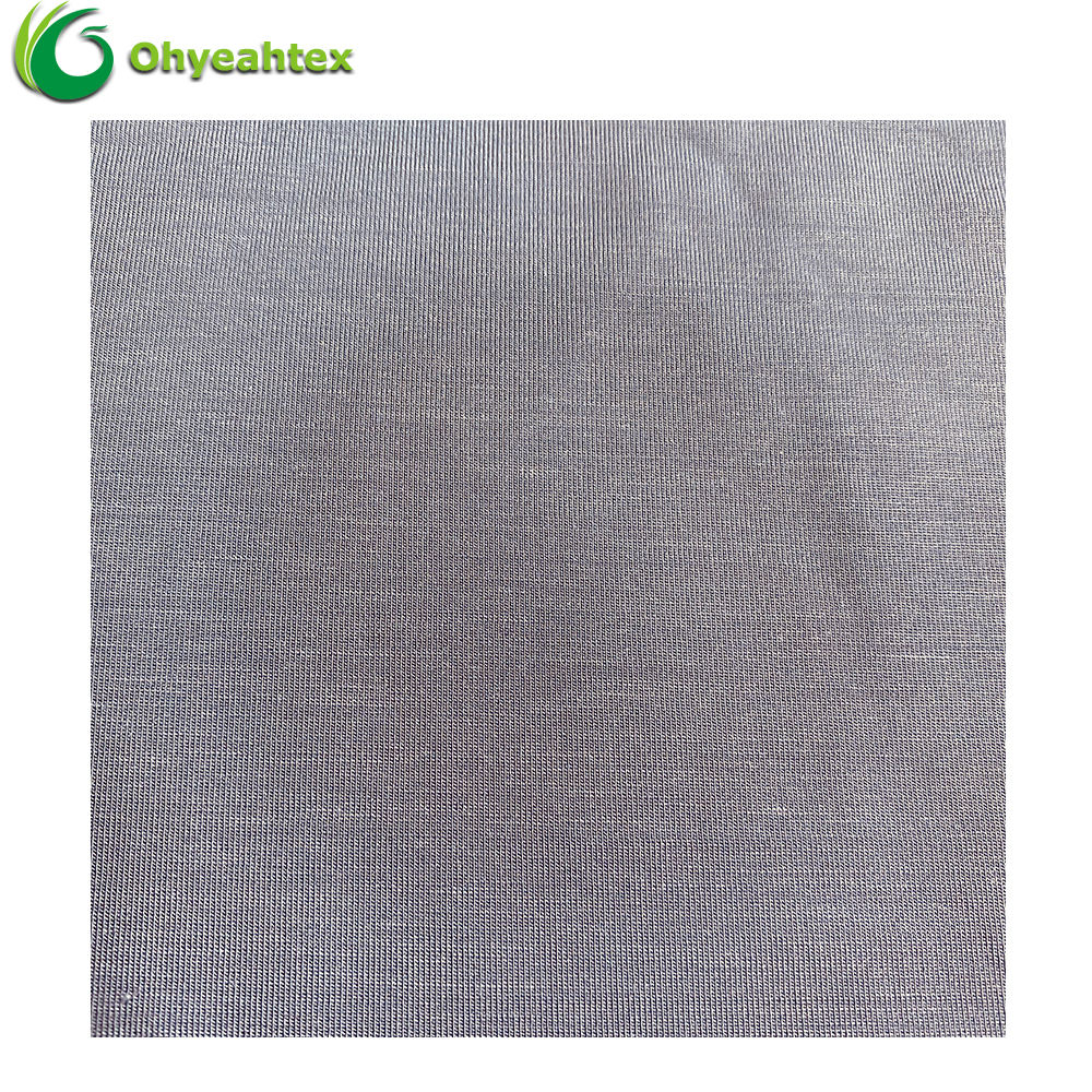Best Price Soft 95% Rayon 5% Spandex Knit Fabric For Clothing