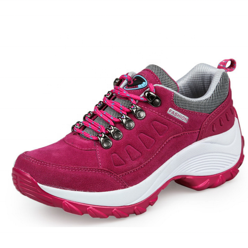 PU Material Newest Design Factory Direct Rubber Outsole Outdoor Casual Sports Women's Shoe