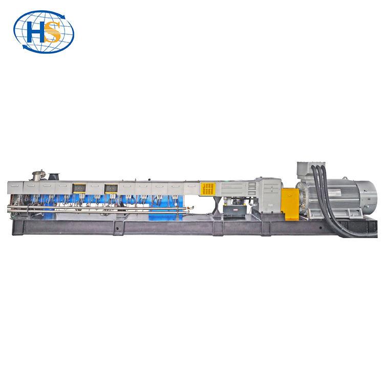 China Haisi factory price plastic raw materials pellet plastic pelletizing line