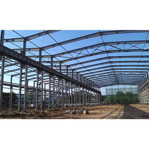 Prefab house construction steel structure h beams frame buildings