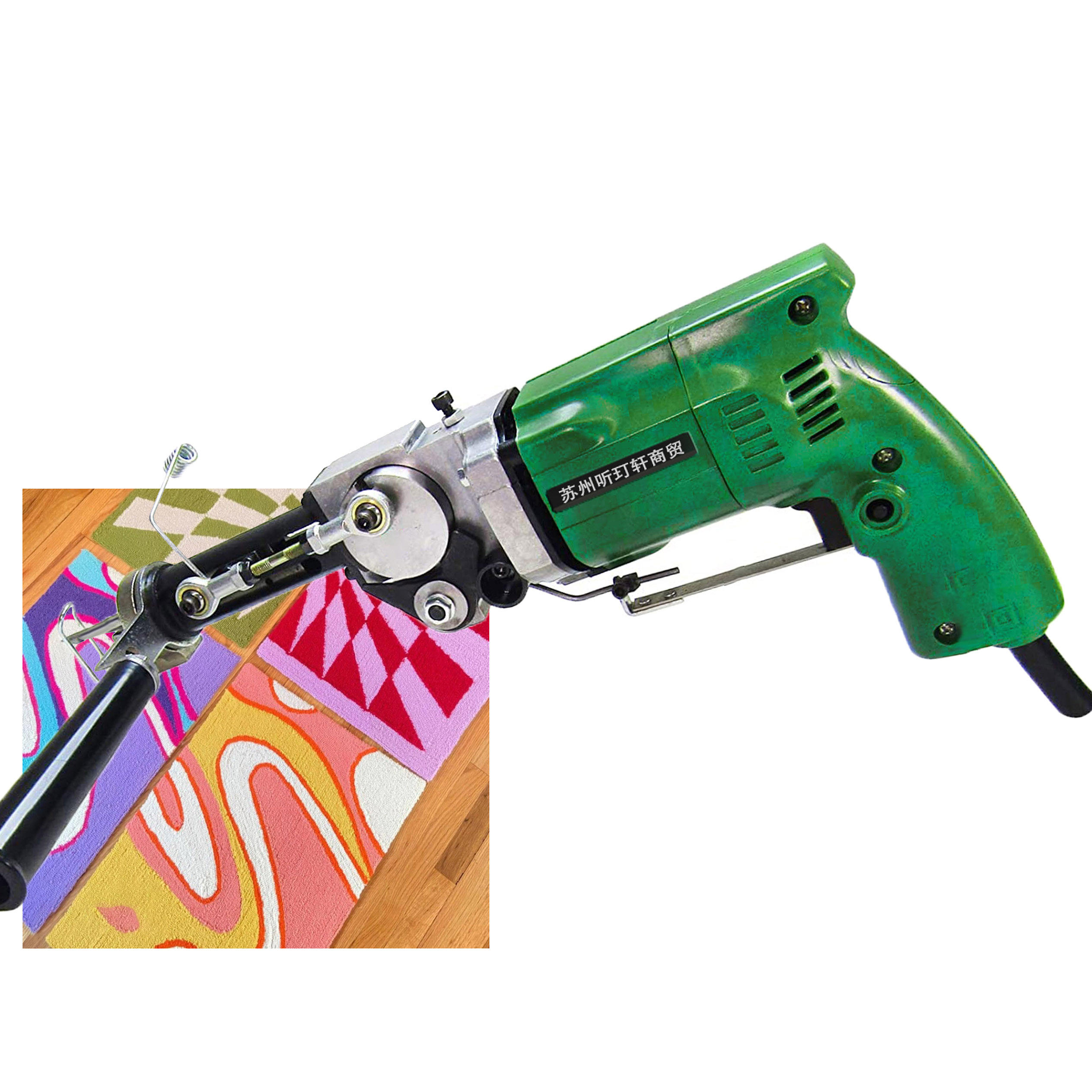 ak-1/ak2 220v Cut And Loop Pile Hand Rug Tufting Gun For Carpet