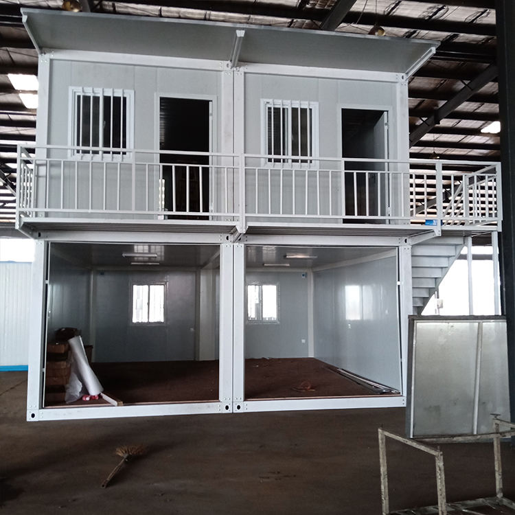 2 story luxury 20ft 40ft office container prefabricated houses for sale