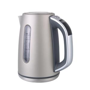 1.7L fast cooking pot sliver kettle water gauge LED screen stainless steel kettle electric kettle