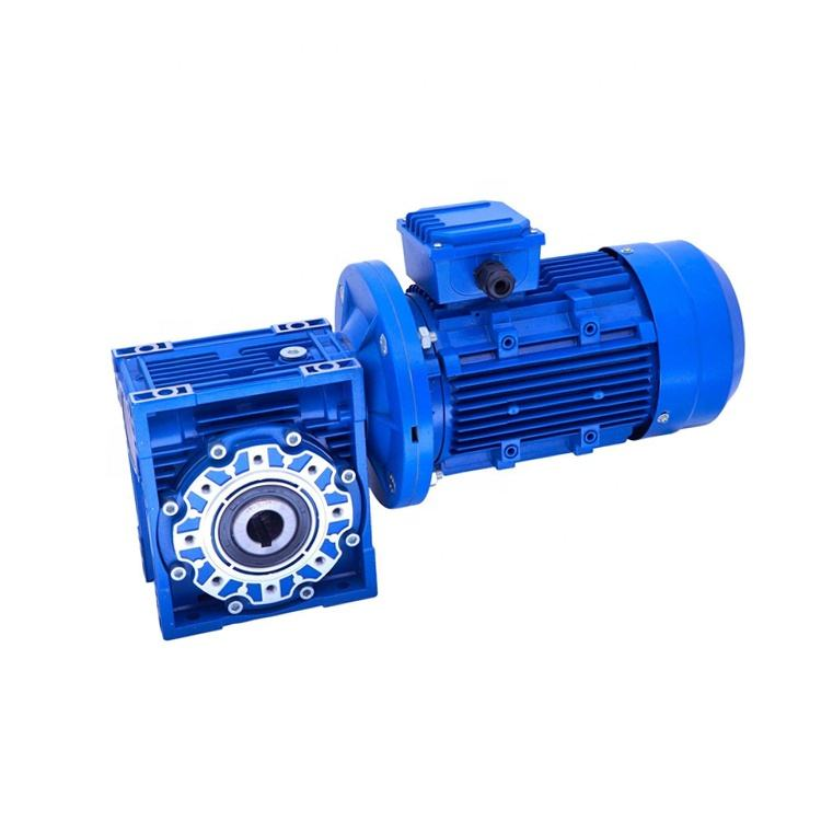 NMRV 030 050 type Worm Gear Box Reducer Gearbox price with motor for robot arm