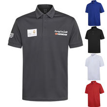 Custom Mens Golf Dry Fit Polo Shirt With Embroidery Logo