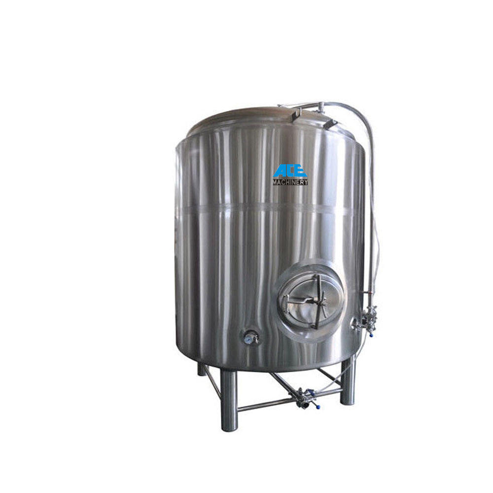 Ace Factory 800L Cooled Stainless Steel Conical Beer Fermenter/50L Brewing Equipment/Tea Brewing Machine Equipment