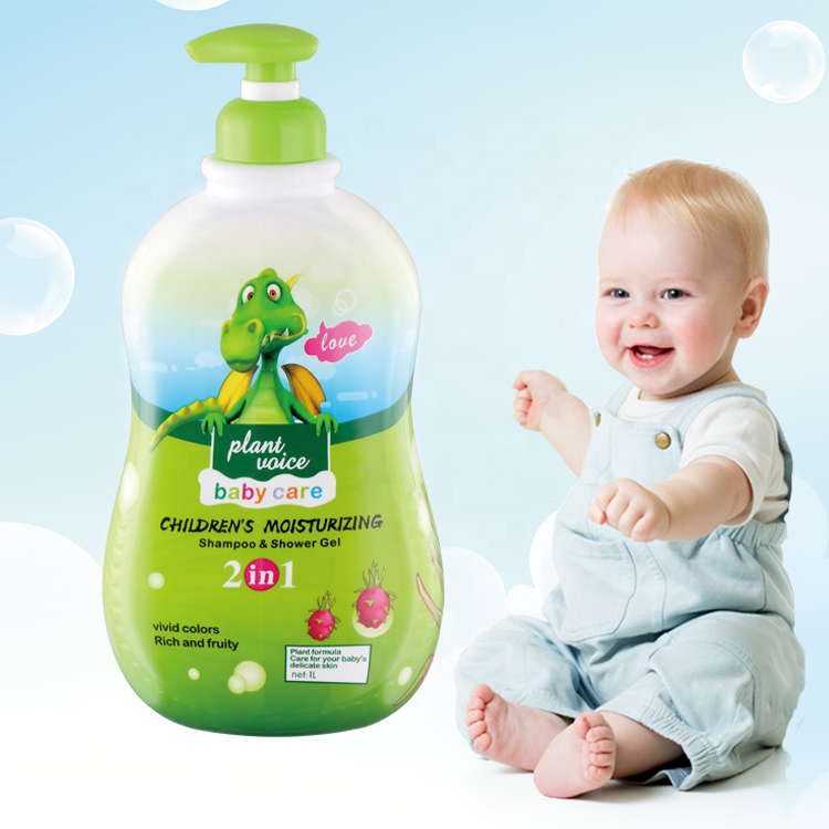 Wholesale Private Label Natural Professional Baby Soap Shampoo Manufacturers Herbal Hair Organic Bathroom Shower Gel for Kid