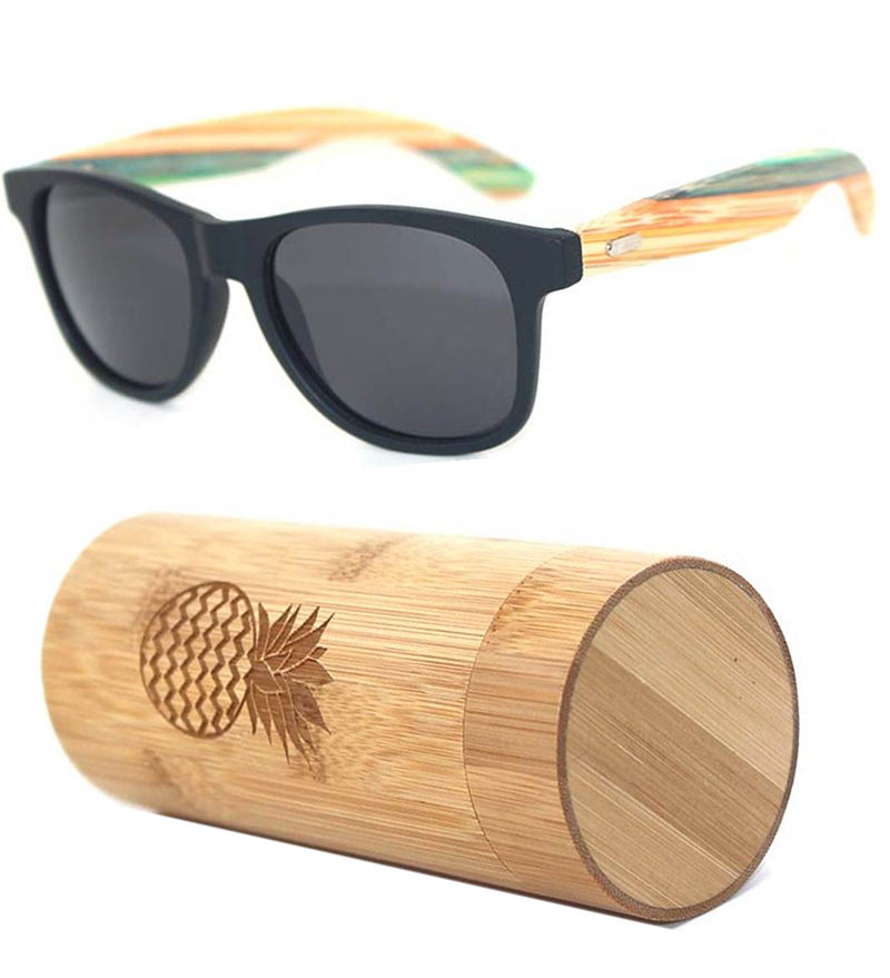 China professional design top quality elegant branded recycle customize plastic wood sunglasses 2020