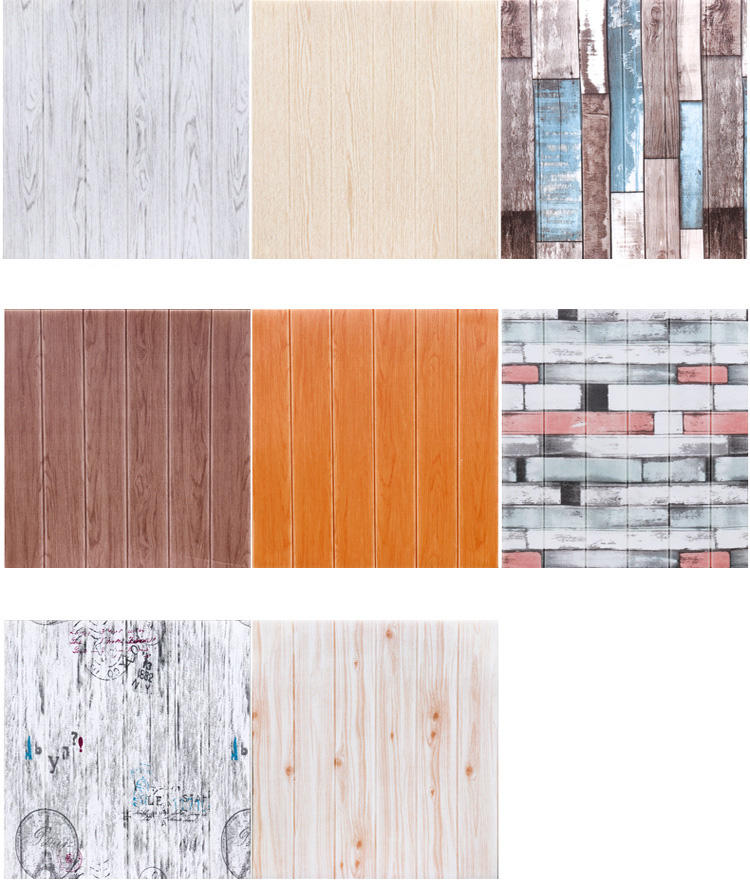 natural wood style wall panel modern 3d wall papers home decoration wallpaper wall panels