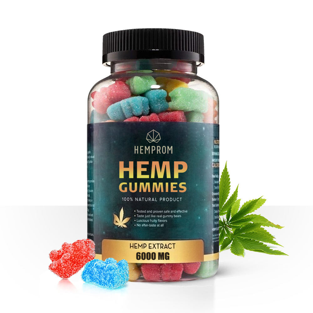 Private Label Fruity Flavor Vitamins cbd Gummy Candy