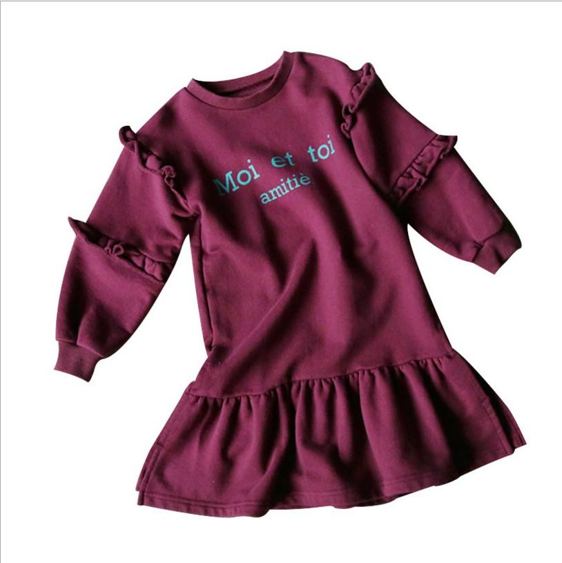 Wholesale UK Boutique Children Angel Wing Cotton Bangkok Girl Shirt Dress From China Supplier