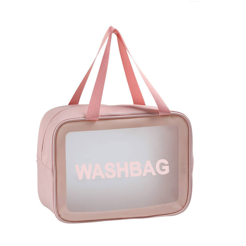 Accept Custom Logo PU Small Travel Toiletry Bags Clear Makeup women handbags Organizer Cosmetic bag