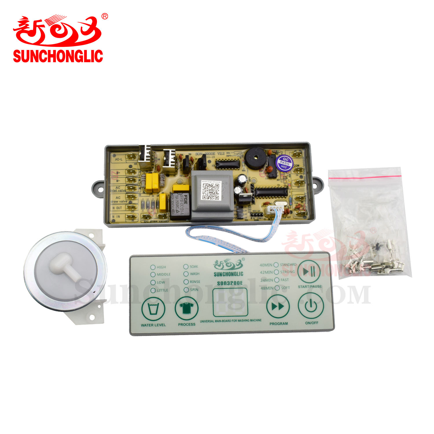 Sunchonglic factory price buy washing machine parts universal washing machine pcb board