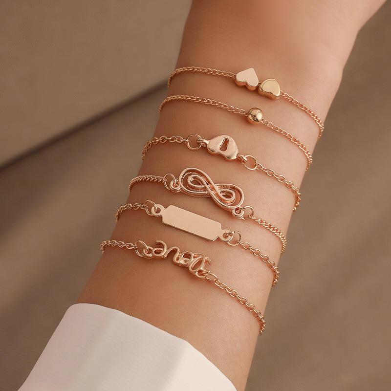 cheap slim bracelet charm fashion jewelry bracelet trendy gold fancy cute jewellery bracelet slap snap jewelry