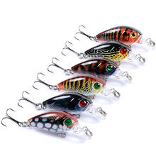 4G Mini Fishing Gear Tackle Blank Freshwater Fishing Crankbaits Lure For Sea