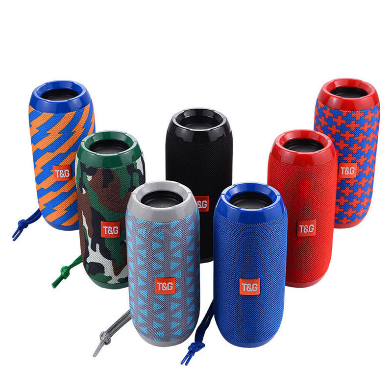 Amazon Original factory T&G TG117 charge3 Outdoor stereo bluetooth Speaker Waterproof Portable Wireless Column Loudspeaker TG113