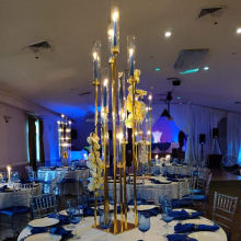 Wedding supplies centerpiece decoration led acrylic candelabra