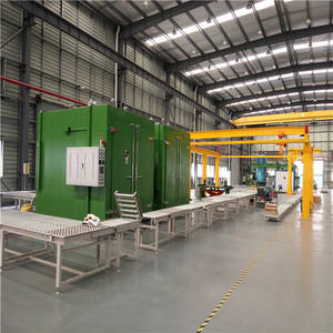 Elektrische Verwarming Curing Oven Intermediaire Frequentie Transformator Track Curing Oven Drogen Curing Oven Plant