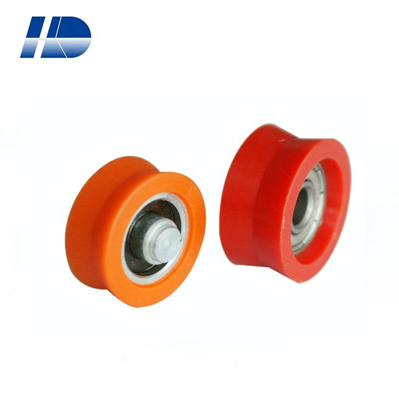 nylon plastic small pulley roller for Sliding door window pulley factory price Sliding door and window pulley roller