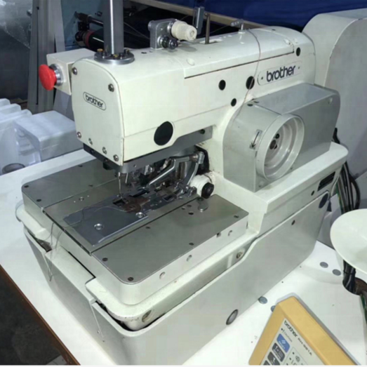 Used brother buttonhole machine rh-981a-00 / 01 / 02 computer round head industrial electric sewing machine