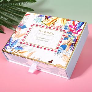 Creative Wedding Gift Drawer Type Paper Card Box Packaging