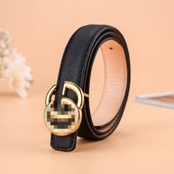 Hot sell Kids belt leather belt decorative girls western lea
