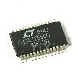 LTC1666CG#TRPBF LTC1666  IC Integrated Circuit Data Acquisition -  Digital to Analog Converters DAC
