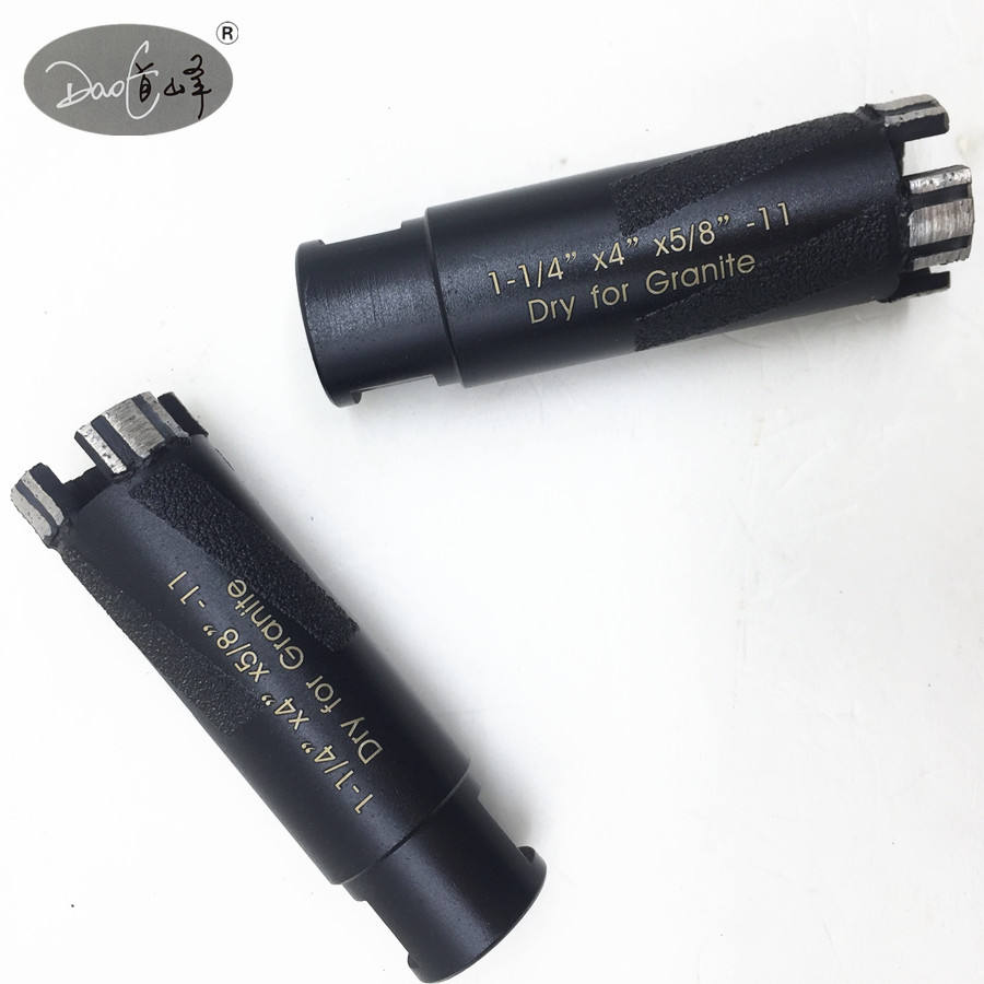 DIAMOND CORE Drill Bit 1 1//2 pouces Wet//Dry Granite Béton Pierre Marbre Carrelage