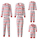 Family New Year Family Look Matching Clothes Christmas Pajamas Baby Romper Sets Dad and Son Mother and Daughter Outfits Family