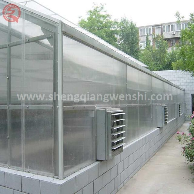 Good Products Agricultural Multi-Span High Quality Pc Sheet Greenhouses