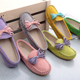 High Quality Custom Comfortable Moccasins Flat Genuine Leather Casual Women Shoes New Zealand